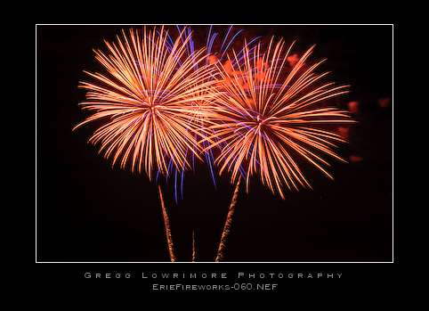 From the Erie Fireworks show at Vista Ridge GC, July 3rd.