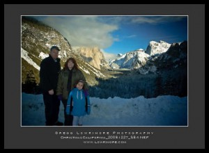 The Family at Tunnel View