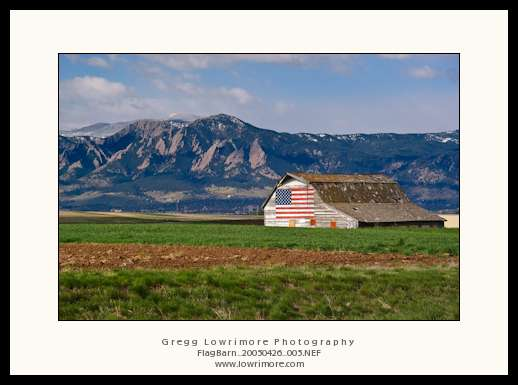 Flag Barn, Boulder, CO