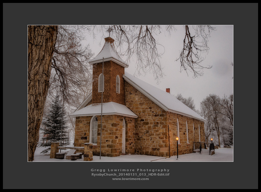 Ryssby Church 20140131 013 HDR (Edit)