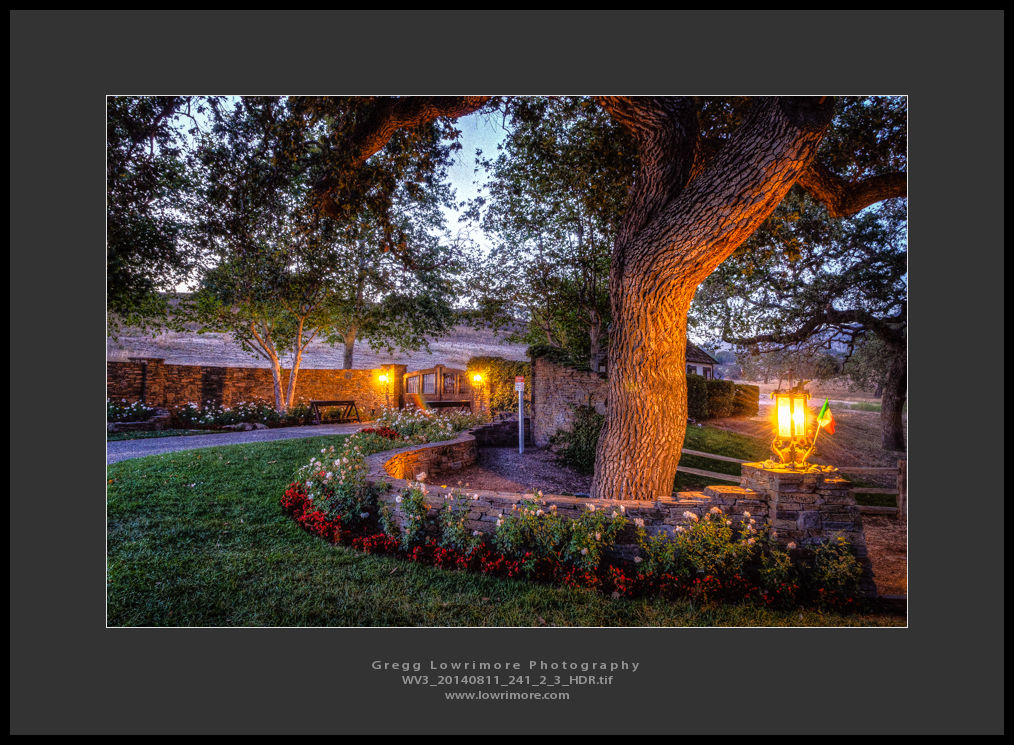 Neverland Ranch Entrance