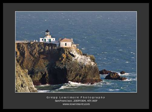 Point Bonita Lighthouse and Shoreline