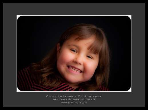 Toothless Sofia Smiling Bigger