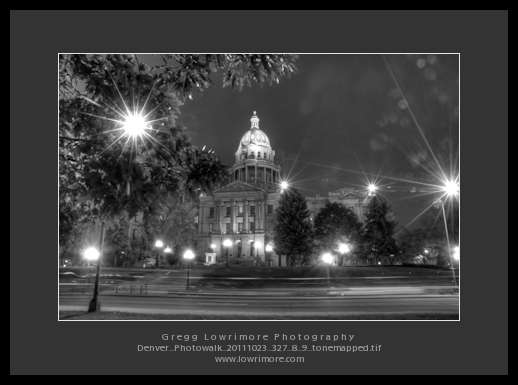 Denver Photowalk 20111023 327-8-9 HDR BW