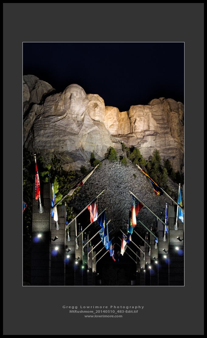 MtRushmore 20140510 483 Edit Mt Rushmore at Night