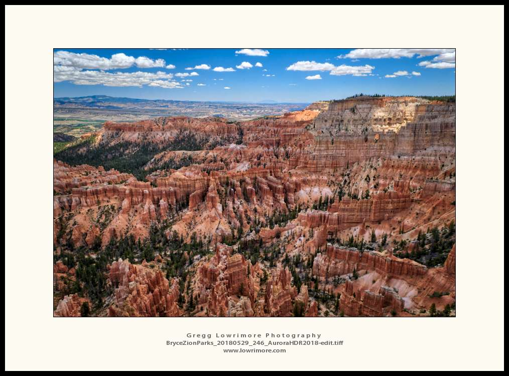 Bryce Canyon - Inspiration Point Overlook